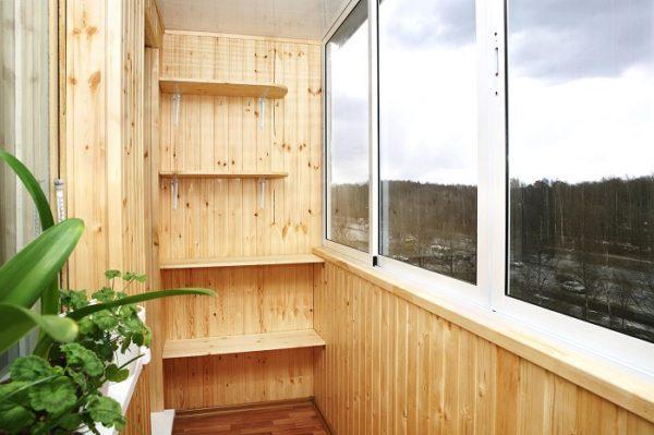 деревянные полки