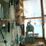 станок на балконной мастерской