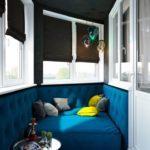 Фото 20 диван на балкон – критерии выбора и инструкция по самостоятельному изготовлению