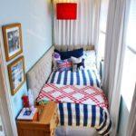 Фото 9 обустройство спального места на балконе или лоджии