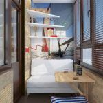 Фото 27 оформление красивого и уютного балкона или лоджии: топ-110 идей
