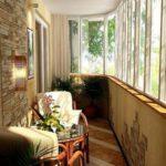фото 5 текстиль в дизайне балкона