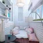 Фото 10 обустройство спального места на балконе или лоджии