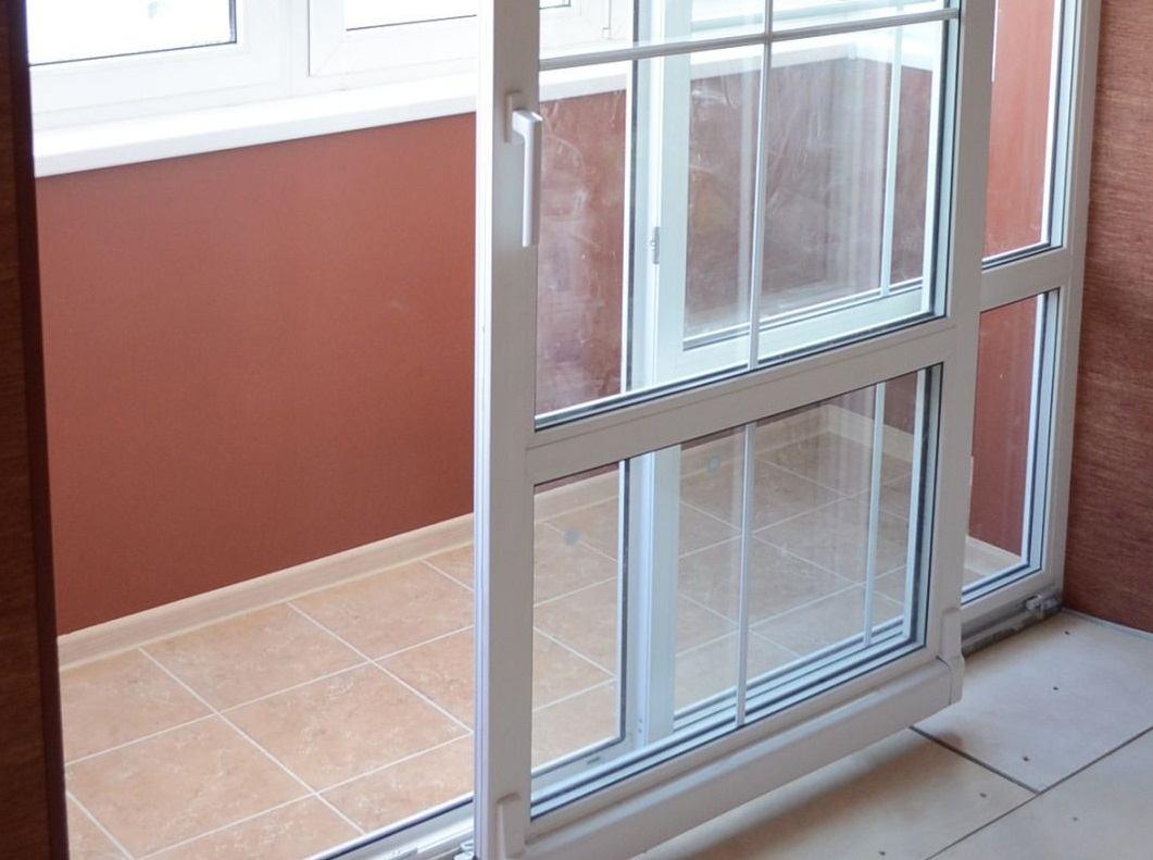 Раздвижные двери балконные