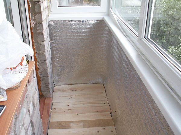 Пошагово утепляем балкон или лоджию минеральной ватой своими руками