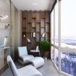 Фото 14 Идеи дизайна лоджии и балкона с панорамным остеклением