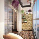 Фото 15 Идеи дизайна лоджии и балкона с панорамным остеклением