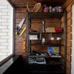Фото 27 выбор материала и монтаж стеллажа на балкон своими руками