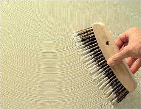 Один из способов текстурирования поверхности.