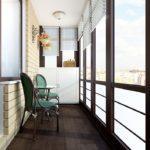 Фото 18 Идеи дизайна лоджии и балкона с панорамным остеклением