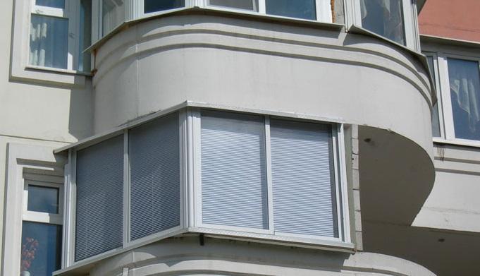остекление балкона п-3