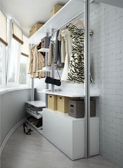 шкафчик на балконне