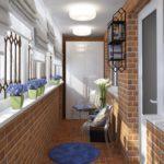 Фото 40 оформление красивого и уютного балкона или лоджии: топ-110 идей