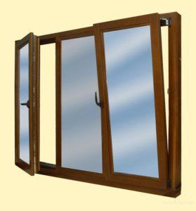 распашные окна на балконе