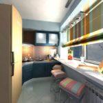 Фото 13 пошаговое обустройство кухни на балконе или лоджии