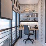 Фото 25 обустройство кабинета на балконе или лоджии