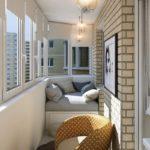 Фото 51 оформление красивого и уютного балкона или лоджии: топ-110 идей