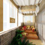 Фото 55 оформление красивого и уютного балкона или лоджии: топ-110 идей