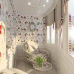 Фото 56 оформление красивого и уютного балкона или лоджии: топ-110 идей