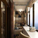 Фото 61 оформление красивого и уютного балкона или лоджии: топ-110 идей