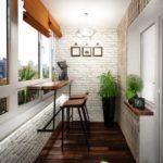 Фото 44 оформление красивого и уютного балкона или лоджии: топ-110 идей