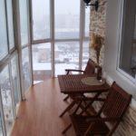 Фото 26 Идеи дизайна лоджии и балкона с панорамным остеклением