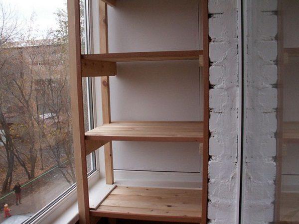 стеллаж на балкон