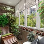 Фото 22 обустройство зимнего сада на балконе или лоджии
