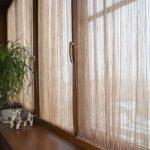 занавески на балкон