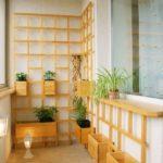 Фото 5 выбор материала и монтаж стеллажа на балкон своими руками