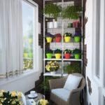 Фото 4 выбор материала и монтаж стеллажа на балкон своими руками