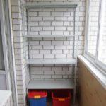 Фото 12 выбор материала и монтаж стеллажа на балкон своими руками