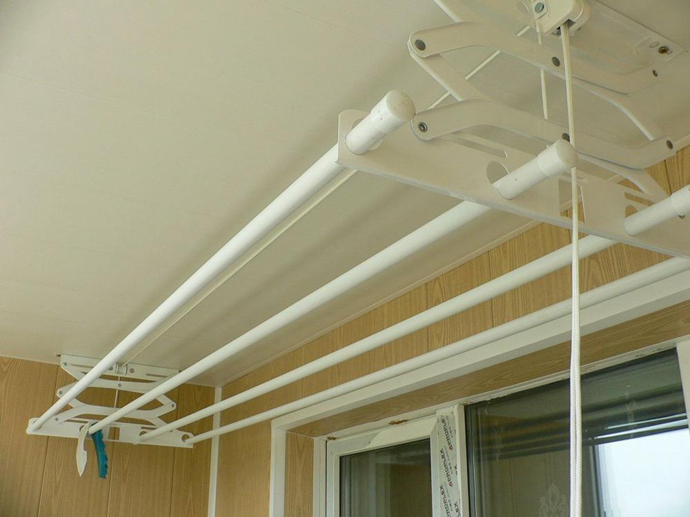 стационарная сушилка для белья потолочная
