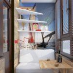 Фото 26 пошаговое обустройство комнаты на балконе или лоджии