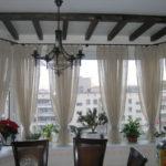 Фото 2 выбор штор для современного оформления балкона или лоджии