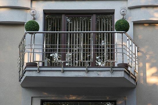 ограждение балконное из нержавейки