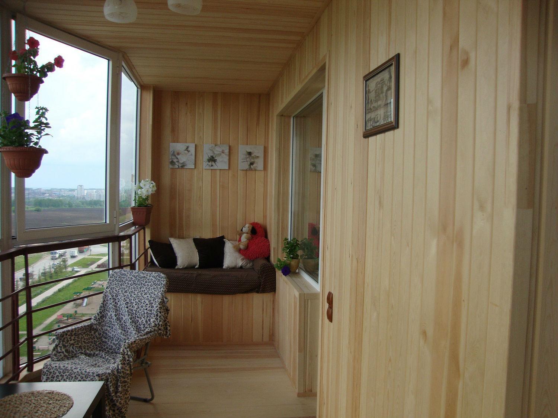 этого дизайн балкона с евровагонкой фото виниловые