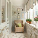 Фото 14 чем и как самостоятельно покрасить кирпичную стену на балконе