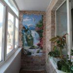 Фото 15 отделка балкона декоративным камнем своими руками
