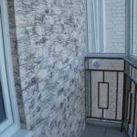 Фото 10 отделка балкона декоративным камнем своими руками