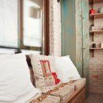 Фото 10 чем и как самостоятельно покрасить кирпичную стену на балконе