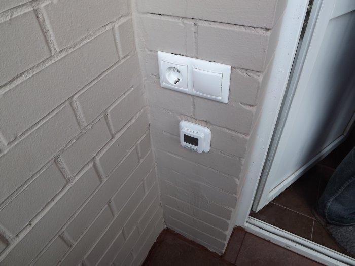 выключатель на балконе