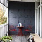 Фото 12 чем и как самостоятельно покрасить кирпичную стену на балконе
