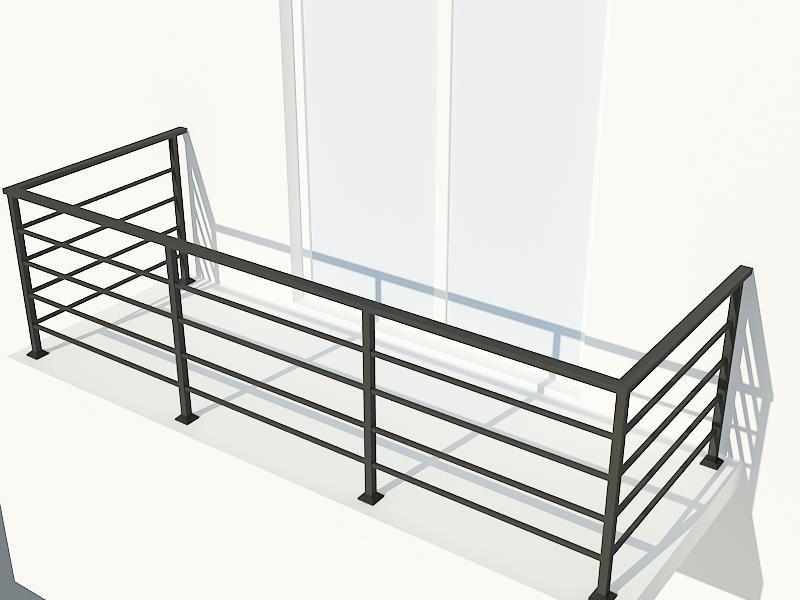 балконное ограждение