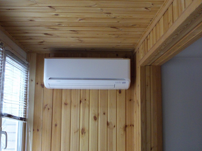 расположение климатического оборудования
