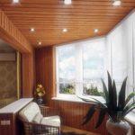 Фото 10 дизайн балкона с освещением
