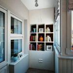 Фото 17 какие бывают шкафы для балкона или лоджии и как изготовить своими руками