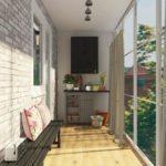 Фото 16 чем и как самостоятельно покрасить кирпичную стену на балконе