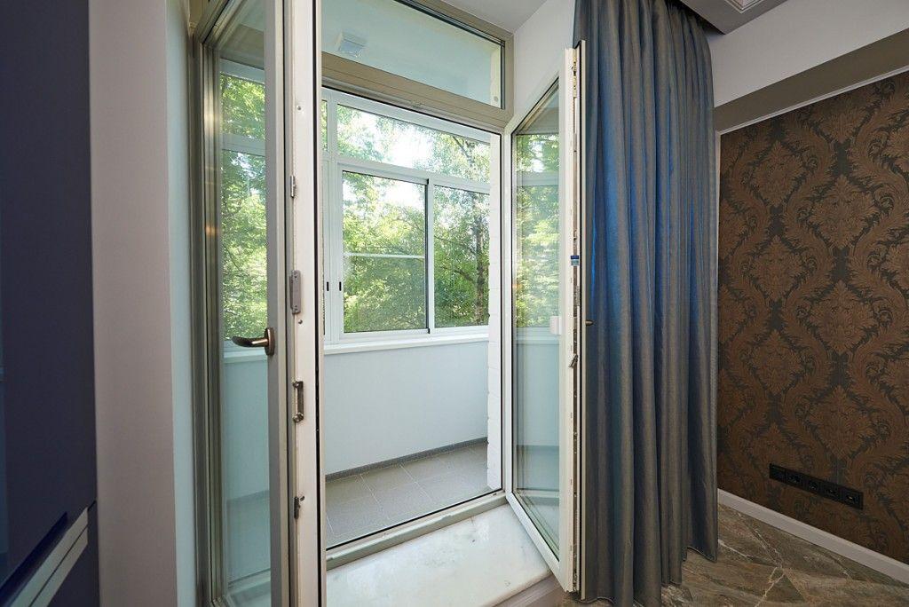 Штульповые балконные двери