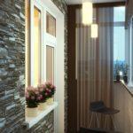 Фото 23 отделка балкона декоративным камнем своими руками